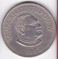 Tonga. 2 Pa'anga 1968  Taufa'ahau Tupou IV, Cupronickel , KM# 37 - Tonga