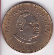 Tonga. 2 Pa'anga 1968 Contremarque 1969 OIL SEARCH,   KM# 34 - Tonga