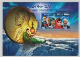 William Moerner - Patrick Modiano - Hiroshi Amano - Malala Yousafzai - John O'Keefe - Nobel - Malediven - Premio Nobel