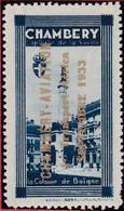 Vignette 73 CHAMBERY AVIATION 1er Transport Aérien Septembre 1933  - T44 Savoie - Luchtvaart