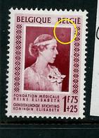 N° 864 V1 - Petit Soleil -      état: ** - Plaatfouten (Catalogus OCB)