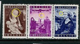 N° 795V - Emeraude Au Front  - 796/7 CU      état: ** / * / **  Côte Total: 245 € à 25% - Plaatfouten (Catalogus OCB)