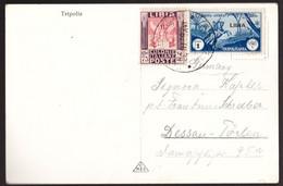 Libia, Cartolina Del 1938 Con Bella Affrancatura    -DK56 - Libia