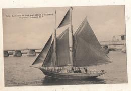 """La Sortie Du Port Des   Sables D Olonne   Du Yacht """" Léopard IV """" - Sables D'Olonne"""