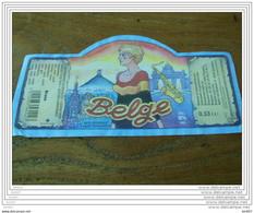 ETIQUETTE BIERE BELGE - Bier