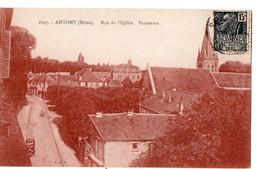 ANTONY  (Seine) - Rue De L'Eglise - Panorama - Antony