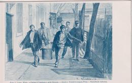 AUSTRIA - Im Polizei Gefanghause - Painting 1898 By F Rumpler. Series 18 02 Nummer 091 - Prison