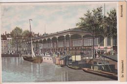 NETHERLANDS - De Vischmarkt ROTTERDAM - Artcard - Rotterdam
