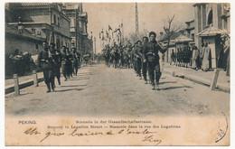 CPA - CHINE - PEKING - Scenery In Legation Street - Scènerie Dans La Rue Des Légations - 1909 - China