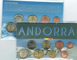 EUROS ANDORRE SET 8V. 8 Serie Urbana Mixta. Diff.Ann. - Andorra