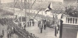 LA SPEZIA Cérémonie De Recrutement Fasciste Avant Le Lancement Du Zara Devant Le Prince Du Piémont  1930 - Sin Clasificación