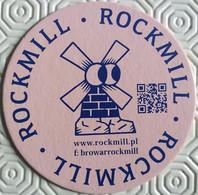 Sous Bock ,coaster ,Pologne  Rockmill - Beer Mats