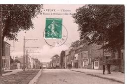 ANTONY - L'Entrée De La Route D'Orléans (Côté Nord) - Antony