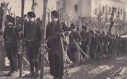 AK Einheit Französische Soldaten Mit Ski - Alpenjäger - Chasseurs Alpins - WW1  (54988) - Weltkrieg 1914-18