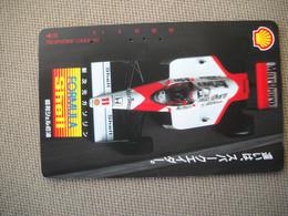 6875 Télécarte Collection  VOITURE Formule 1 FORMULA SHELL MARLBORO     (scans Recto Verso)  Carte Téléphonique - Voitures