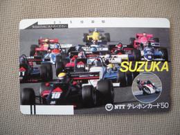 6880 Télécarte Collection  VOITURE Formule1 SUZUKA  Circuit (scans Recto Verso)  Carte Téléphonique - Voitures