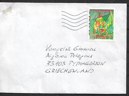 AUSTRIA Cover Sent To Pythagorion 1 Stamp COVER USED - 2011-... Briefe U. Dokumente