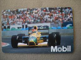 6883 Télécarte Collection  VOITURE Formule1   COURSE (scans Recto Verso)  Carte Téléphonique - Voitures