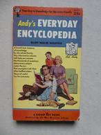 """Andy's Every Day Encyclopedia"" Ellen Wales Walpole - 1954 (SIGNET) - Cultural"