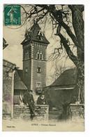 Givry - Château Renard (animation, Pot De Chambre Sur Le Mur) Circulé Date Illisible, Cachet Boite Urbaine B - Andere Gemeenten