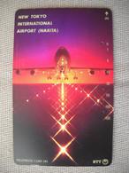 6895 Télécarte Collection  AVION NEW TOKYO INTERNATIONAL AIRPORT NARITA    (scans Recto Verso)  Carte Téléphonique - Aerei