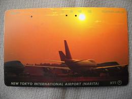6901 Télécarte Collection  AVION NEW TOKYO INTERNATIONAL AIRPORT NARITA    (scans Recto Verso)  Carte Téléphonique - Aerei