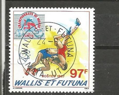 366  Olymphilex87     Beau Cachet     De MATA UTU       (clasfdcroug) - Used Stamps