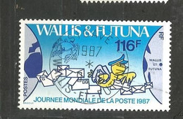 368journée Du Timbre     Beau Cachet     De MATA UTU       (clasfdcroug) - Used Stamps