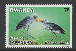 TIMBRE NEUF DU RWANDA - BEC EN SABOT N° Y&T 1218 - Storks & Long-legged Wading Birds