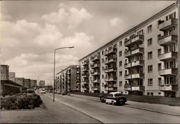 ! DDR Ansichtskarte Rostock Südstadt, Bruno Schmidt Straße - Rostock