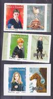 France  114 116 Harry Potter De Feuillet Avec Vignette  Neuf ** TB MNH Sin Charnela - KlebeBriefmarken