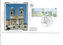 VIGNETTE SALON PHILATELIQUE D'AUTOMNE PARIS-ROME 2002 - 1999-2009 Illustrated Franking Labels