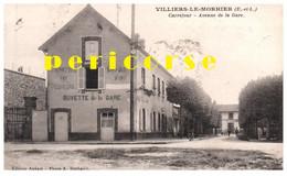 28  Villiers Le Morhier  Rendez Vous Des Pêcheurs Buvette De La Gare - Altri Comuni