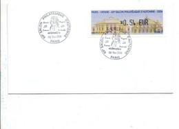 VIGNETTE SALON PHILATELIQUE D'AUTOMNE PARIS 2006 MOZART - 1999-2009 Illustrated Franking Labels