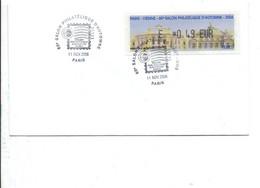 VIGNETTE SALON PHILATELIQUE D'AUTOMNE PARIS-VIENNE 2006 - 1999-2009 Illustrated Franking Labels
