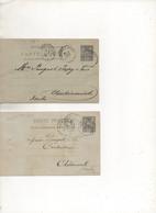 Lot 120: Entier Postaux Carte Postale - Overprinter Postcards (before 1995)