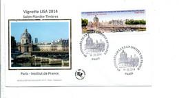 VIGNETTE CONGRES PHILA PARIS 2014 - 2010-... Illustrated Franking Labels