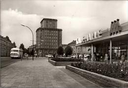 ! DDR Ansichtskarte Wismar, Kaufhalle - Wismar