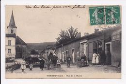 CP 55 HERBEUVILLE Rue De La Mairie - Other Municipalities