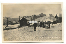 Muottas Muragl - Skiabfahrt, Downhill Skiing - Old Switzerland Postcard - GR Grisons