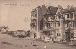 CPA - BELGIQUE - SAINT IDESBALD - Groupe De Villas  (état) - Non Classificati