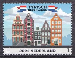 Nederland - Typisch Nederlands 2021 - 22 Maart 2021 - Grachtenpanden  - MNH - Ungebraucht