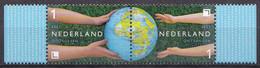 Nederland - 22 Maart 2021 - Duurzaamheid - Doorgeven/ontvangen - Doorgeven/ontvangen - MNH - Zegel 1/2 -horizontaal Paar - Ungebraucht