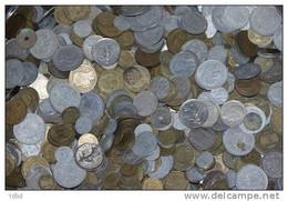 LOT DE 250 GR DE PIECES DE MONNAIE FRANCAISES ET DIVERSES - - Other Coins