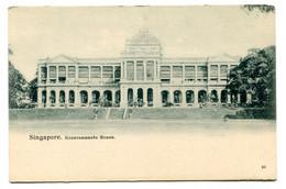 RC 20640 SINGAPOUR GOVERNEMENTS HOUSE SINGAPORE POSTCARD - Singapore