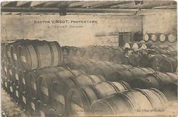 GASTON VINSOT PROPIETAIRE A CARDAN EN GIRONDE , LE CHAI PRINCIPAL - Other Municipalities