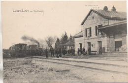 03 LURCY-LEVY  La Gare Avec Train - Estaciones Con Trenes