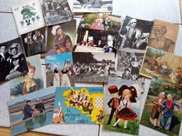 40 CARTES COSTUMES ET FOLKLORE - 5 - 99 Postkaarten