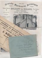 Grande Marbrerie Artistique Bourg Saint Andéol  1934 - Non Classificati