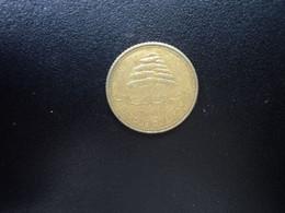 LIBAN : 5 PIASTRES   1968     KM 25.1       TTB - Lebanon